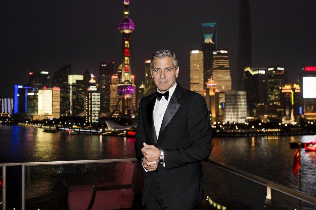 George Clooney se une a Omega en Shanghái