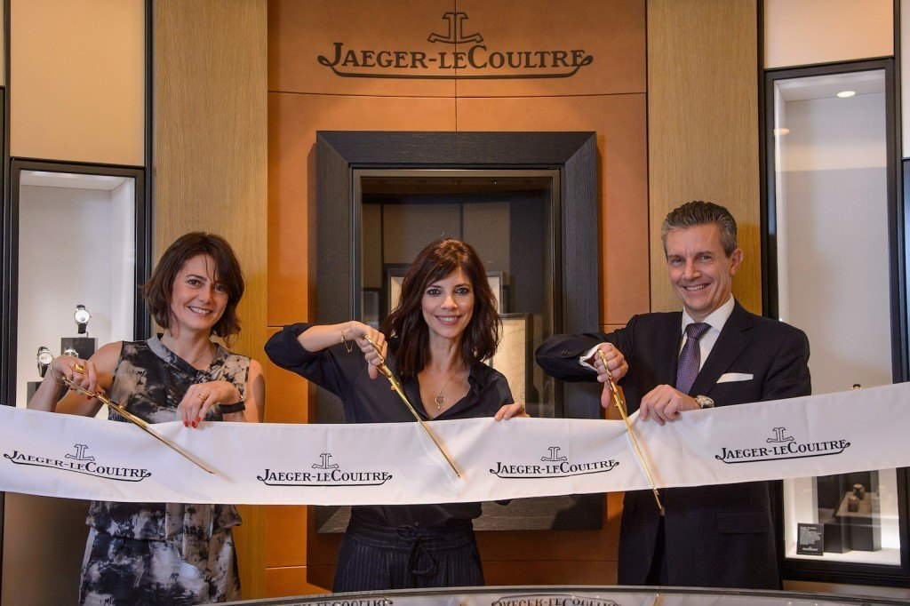 Inauguración Boutique Jaeger-LeCoultre con Maribel Verdú