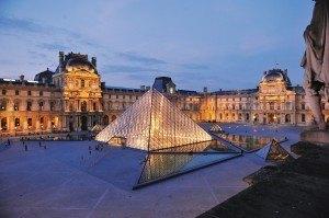 Musée du Louvre, Napoleon Courtyard and Pyramid (c) 2009 Musée du Louvre  Stéphane Olivier2
