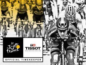 Tissot, Cronometrador oficial Tour de France