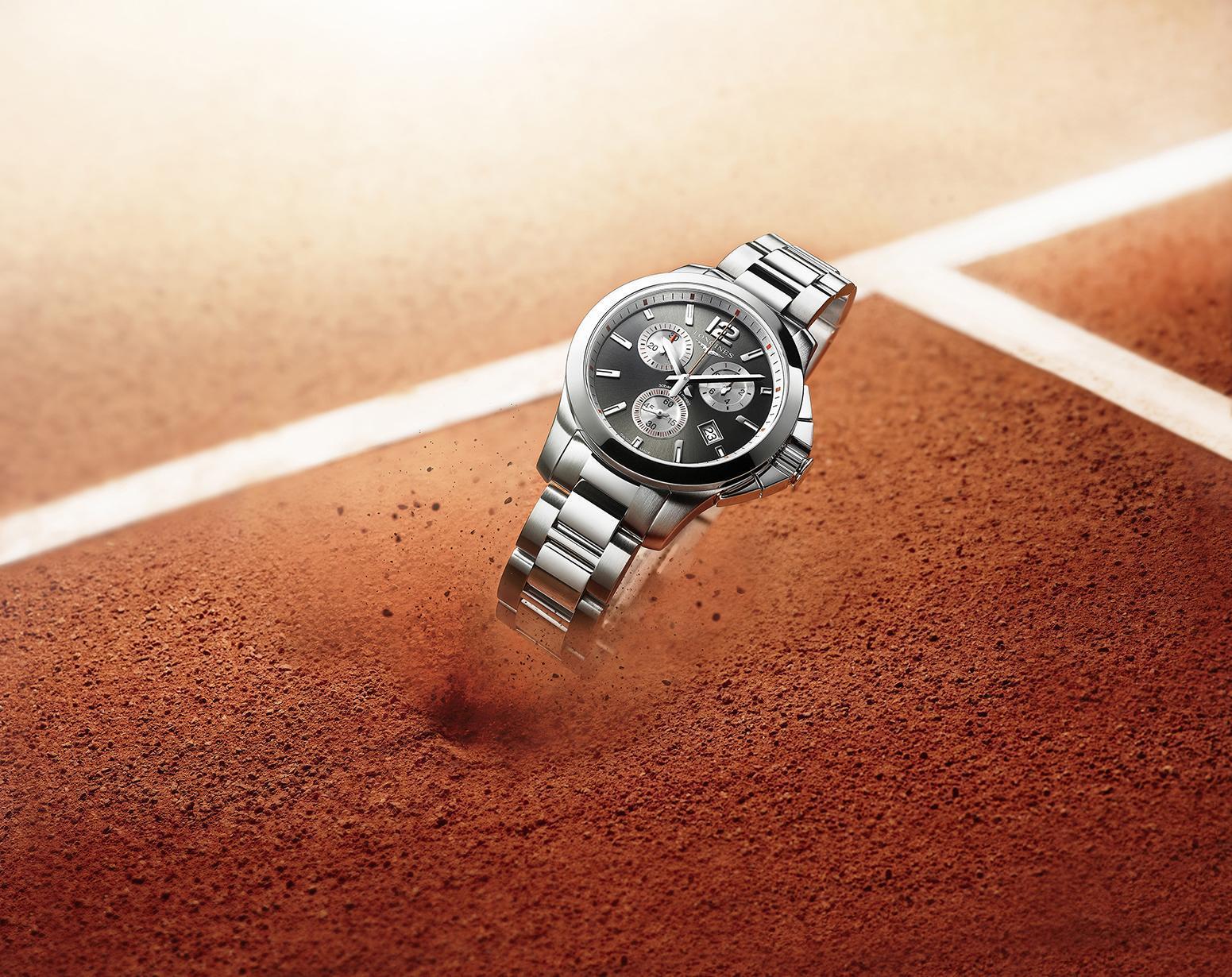Longines Conquest Roland Garros
